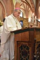Pauselijk nuntius mgr. Dupuy